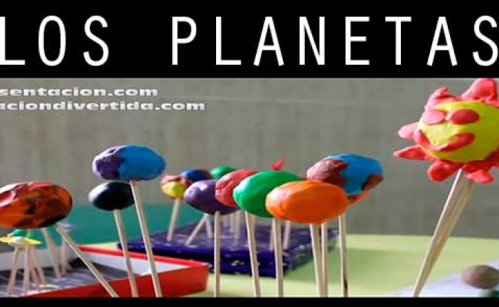 Canción de los planetas y manualidades para Educación Infantil de un proyecto de comprensión