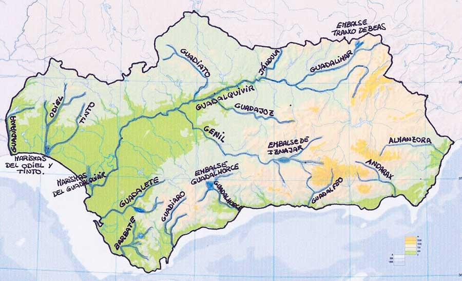 Andalucia-mapa-rios-y-afluentes