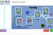 The family – Interesante Juego educativo para aprender los miembros de la familia en inglés