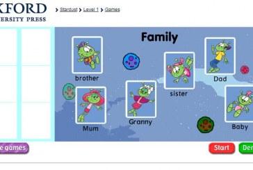 Family juego para aprender los miembros de la familia en inglés