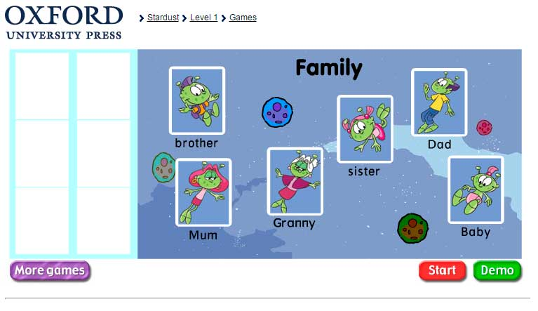 The family juego educativo