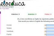 My house test para aprender las partes de la casa en Inglés