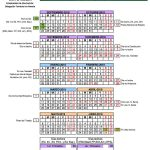 Calendario escolar Almería para el curso 2018-2019 [Descargar]