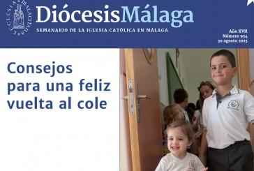 Consejos de la diócesis de Málaga para una feliz vuelta al cole