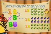 Multiplicación de dos cifras