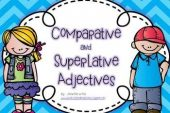 5th grade: Mock exam and list (Comparative and Superlative)