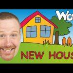 Aprende de forma divertida las partes de la casa en inglés