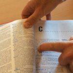 ¿Cómo buscar una palabra en el diccionario?