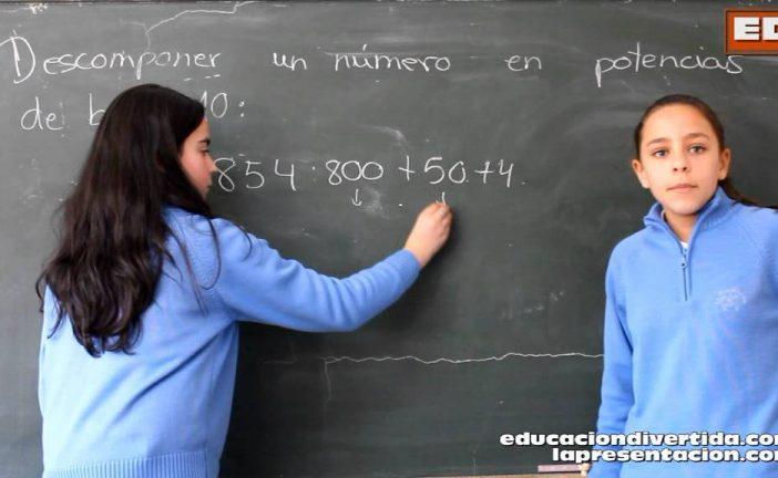 Cómo descomponer números en base 10 – Tutorial Matemático