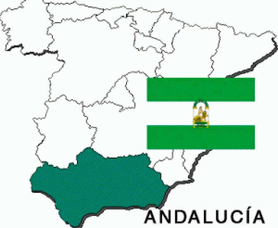 Andalucia-bandera-y-mapa