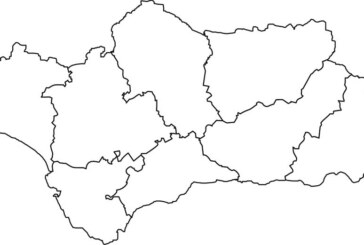 Mapas mudos de Andalucía para trabajar el Día de Andalucía