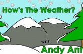 How's the Weather? vídeo para aprender el tiempo meteorológico en inglés