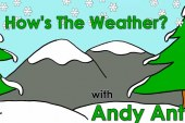 How's the Weather? vídeo para aprender con la hormiga Andy el tiempo meteorológico en inglés