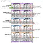 Calendario escolar Almería
