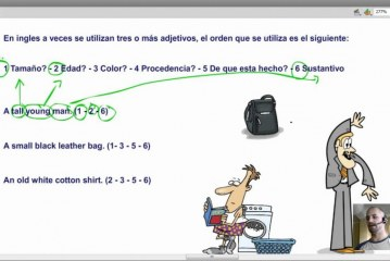 Adjetivos en Ingles Orden de Palabras / Curso Ingles Video / Gramatica Ingles
