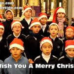 We wish you a merry Christmas - Villancico en inglés