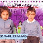 Hoy Día de internacional de la mujer preguntamos a nuestros alumnos de 4 años por ellas #DiaInternacionalDeLaMujer