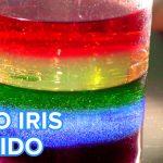 Experimento el Arco Iris líquido