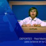El Real Madrid clasificado para los octavos de final de la copa del Rey - DEPORTES PRESEN TV