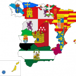 Maqueta del relieve y los ríos de España - Trabajo cooperativo