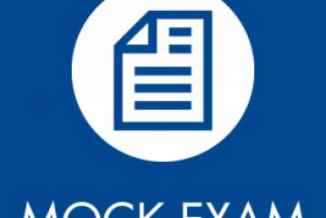 MOCK EXAM for 5th grade – 19/01/2017