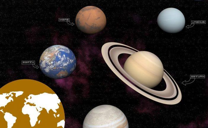 El sistema solar apréndelo de manera sencilla