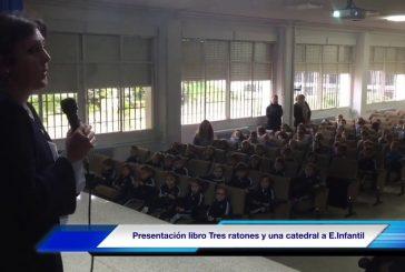 """Educación Infantil asiste a la presentación del libro """"Tres ratones y una catedral"""" de Adely Madrid"""