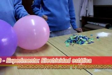 Electricidad estática con globos – Experimento escolar