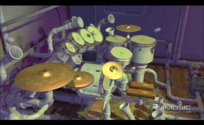 Una percusión muy animada [vídeo]