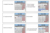 Calendario escolar Sevilla