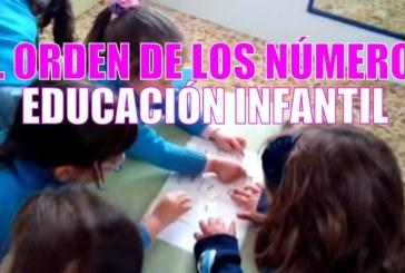 Ordenar los números | Educación infantil 3 años