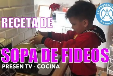 Canal cocina | Receta de sopa de fideos para niños