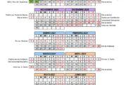 Calendario escolar Andalucía curso 2020-2021