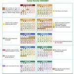 Calendario escolar por provincias 2020-2021 para la comunidad autónoma de Andalucía