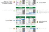 Calendario escolar Granada para el curso 2020-2021 [Descargar]