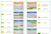 Calendario escolar Jaén 2020-2021