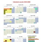 Calendario escolar Madrid para el curso 2020-2021
