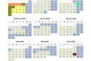 Calendario escolar Madrid para el curso 2020-2021