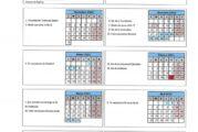 Calendario escolar Sevilla para el curso 2020-2021