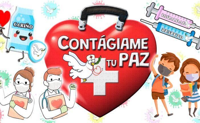 """Canción para el DÍA DE LA PAZ """"Contágiame tu PAZ"""" de Unai Quirós + MATERIAL DIDÁCTICO"""