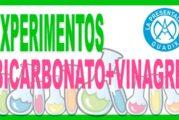 EXPERIMENTO CASERO: Mezcla bicarbonato mas vinagre