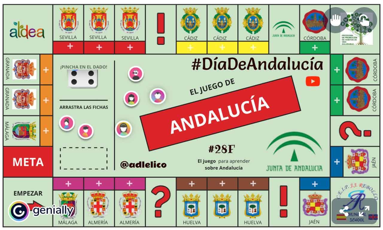 Juego interactivo para el Día de Andalucía