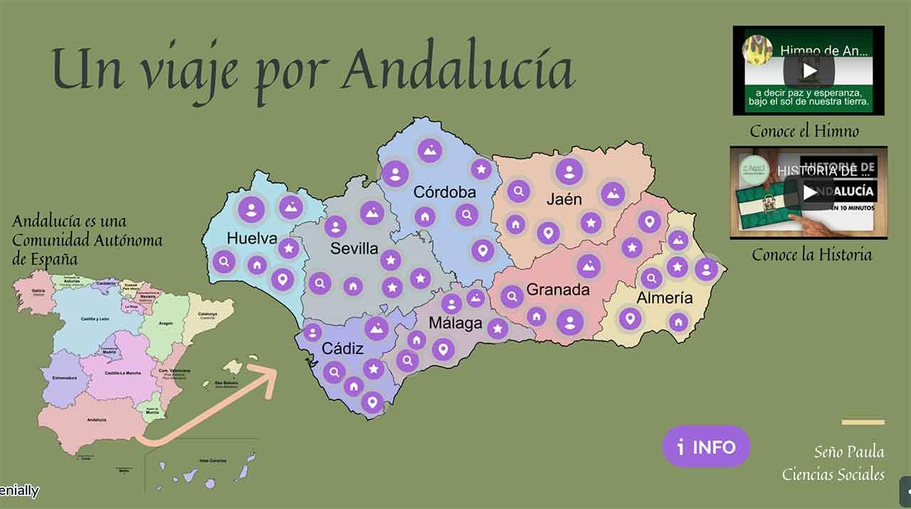Viaja por Andalucía