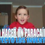¿Cómo hacer un paracaídas de juguete?