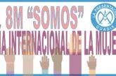 """Anuncio del #8M """"Somos"""" – Día internacional de la MUJER, realizado por alumnado de Educación Primaria"""