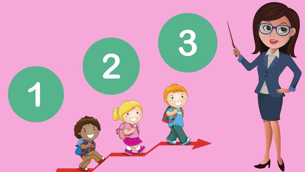 Aprender los números 1, 2 y 3 | Educación Infantil