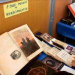 Exposición en el Día del libro
