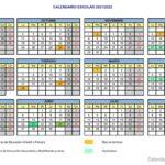 Calendario escolar ASTURIAS para el curso 2021-2022