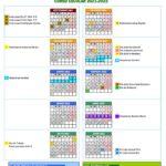 Calendario escolar Córdoba para el curso 2021-2022