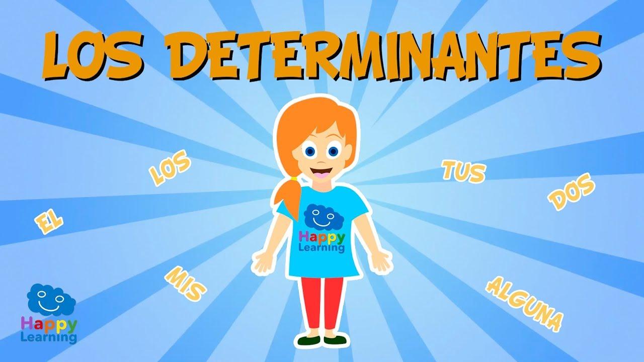 ¿Qué son los determinantes?